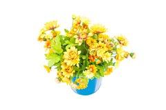 Plastic Yellow Flowers. Stock Photography