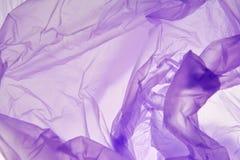 Plastic Zak Abstracte kunstachtergrond Plastic textuur Mooie purpere abstracte grunge decoratieve textuur Plastic achtergrond royalty-vrije stock afbeelding