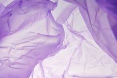 Plastic zakachtergrond Abstracte plastic geweven illustratie voor ontwerp, uitstekende kaart retro malplaatjes Creatieve purple stock afbeeldingen