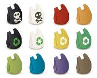 Plastic zakken Royalty-vrije Stock Foto's