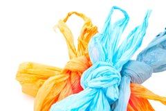 Plastic zakken Royalty-vrije Stock Afbeeldingen