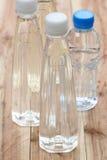 Plastica delle bottiglie di acqua Fotografie Stock Libere da Diritti