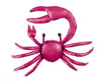 plasticine καρκίνου Στοκ εικόνα με δικαίωμα ελεύθερης χρήσης