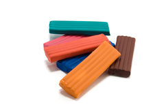 Plasticine Royalty Free Stock Photo