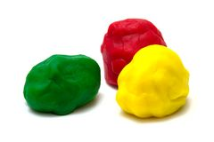 Plasticine Royalty Free Stock Photography