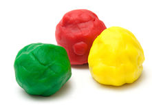 Plasticine Stock Photography