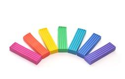 Plasticine Fotografia Stock Libera da Diritti