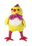 Plasticine baby chicken Stock Photography