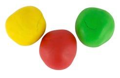 Plasticine Balls Royalty Free Stock Image