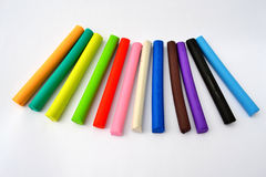 Plasticine Bars Stock Images