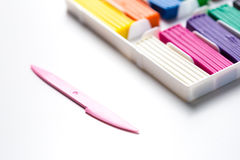 Plasticine bars Stock Image