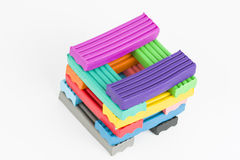 Plasticine. Royalty Free Stock Photography