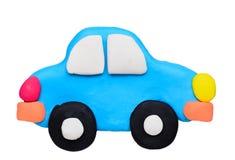 Plasticine clay car Stock Photo