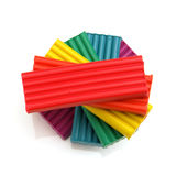 Plasticine colorido Imagens de Stock