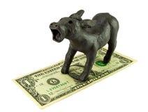 Plasticine donkey Stock Images