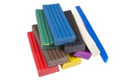 Plasticine Stock Photo