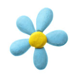 Plasticine flower Stock Photos