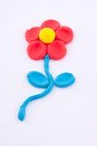 Plasticine flower Royalty Free Stock Photos
