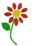 Plasticine flower Royalty Free Stock Image