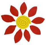 Plasticine Flower Stock Image