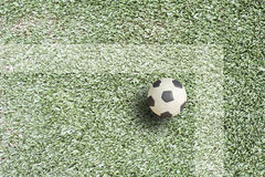 Plasticine Football Royalty Free Stock Images