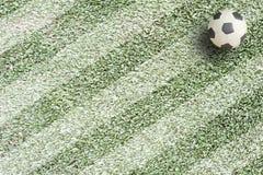 Plasticine-Fußball Lizenzfreie Stockfotos