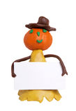 Plasticine halloween Stock Photos