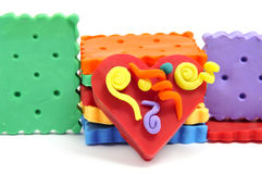 Plasticine handicrafts Royalty Free Stock Image