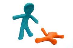 Free Plasticine Helper Royalty Free Stock Images - 327219
