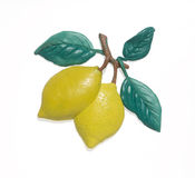 Plasticine lemons Royalty Free Stock Photography