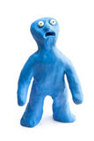 Plasticine man royalty free stock images