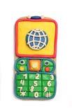 Plasticine mobile telephone Royalty Free Stock Photos