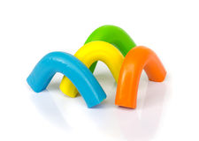 Plasticine . Stock Photo