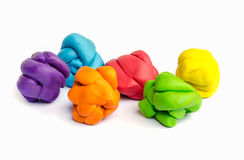 Plasticine . Stock Photography
