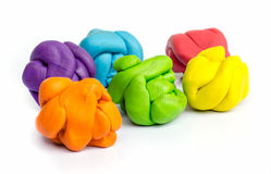 Plasticine . Royalty Free Stock Images