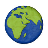 Plasticine planet2 Stock Images