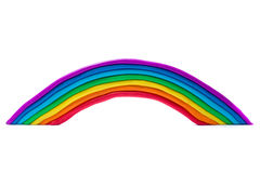 Plasticine rainbow.