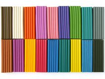 Plasticine set Royalty Free Stock Photo