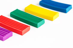 Plasticine set Stock Photos