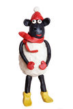 Plasticine sheep Stock Image