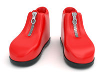 Plasticine shoes Royalty Free Stock Photos