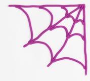 Plasticine Spider Web. Stock Images