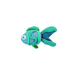 Plasticine  tropical fish  sculpture isolated Royalty Free Stock Photography