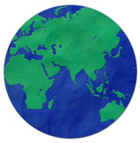 Plasticine van de aarde Royalty-vrije Stock Foto's