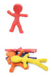 Plasticine Winner Stock Photos
