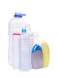 Plastics bottles Stock Photo