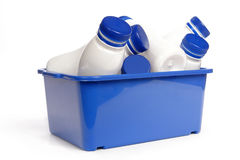 Plastics bottles Royalty Free Stock Photo