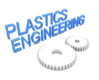 Plastics Engineering Stock Image