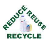 Plastics recycling Stock Images