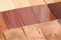 Plastik für die Lieferung - Holz Lizenzfreie Stockfotos